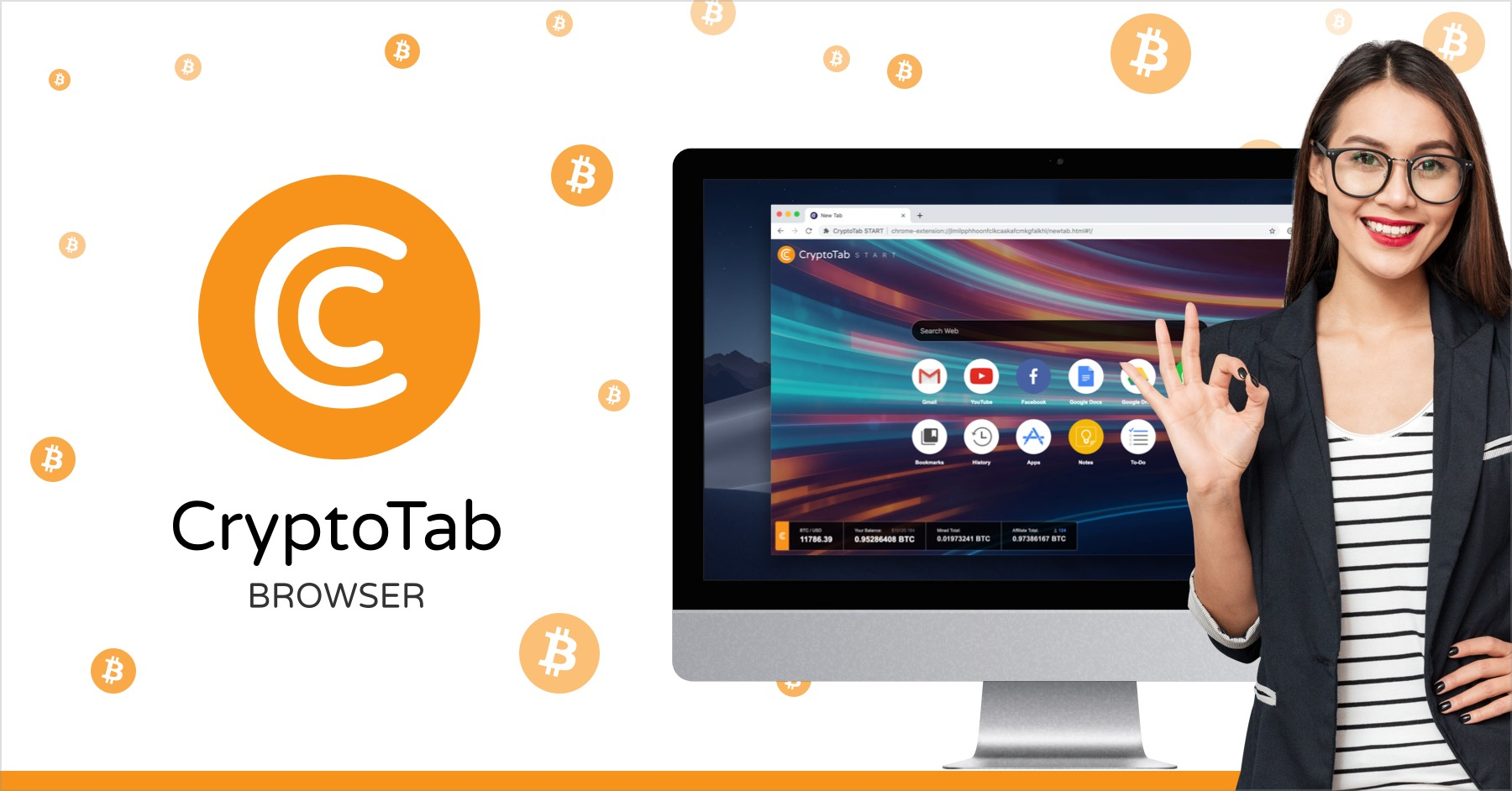 Check out the brand new CryptoTab browser!