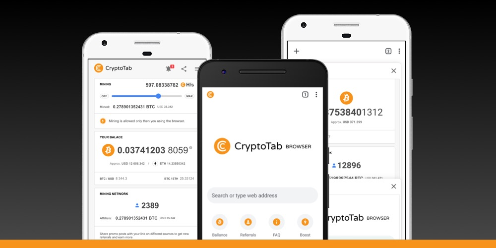 CryptoTab Browser - Lightweight, fast, and ready to mine!